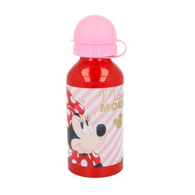 Botella aluminio 400ml Minnie Mouse Beauty