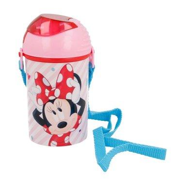Botella robot pop up 450ml Minnie Mouse