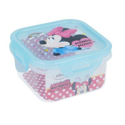 Recipiente cuadrado 290ml Minnie Mouse