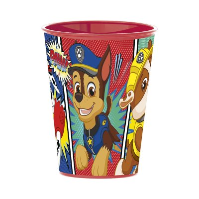 Wholesaler of Vaso plástico 260ml Paw Patrol Comic