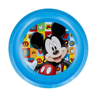 Wholesaler of Plato plástico Mickey Mouse