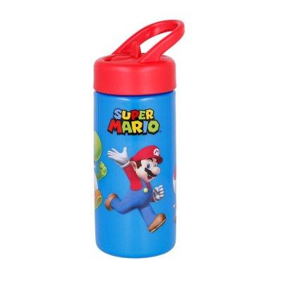 Botella de agua 410ml Super Mario