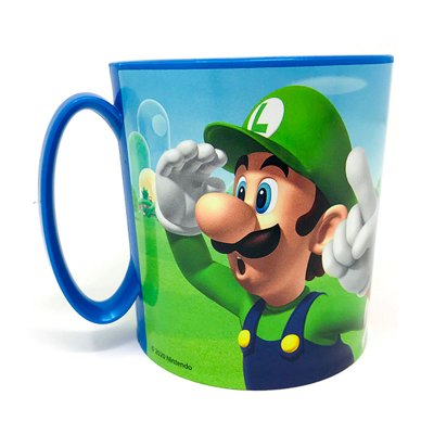 Wholesaler of Taza plástico microondas 350ml Super Mario