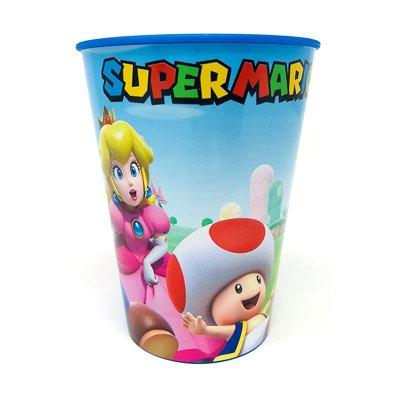 Vaso plástico 260ml Super Mario