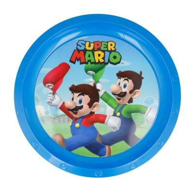 Plato plástico Super Mario