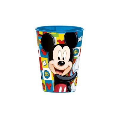 Vaso plástico 260ml Mickey Disney