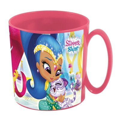 Wholesaler of Taza plástico microondas 360ml Shimmer and Shine