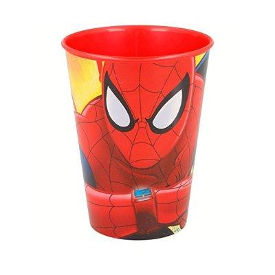 Vaso plástico 260ml Spiderman