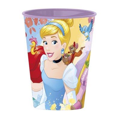Vaso plástico 260ml Princesas Disney Forever
