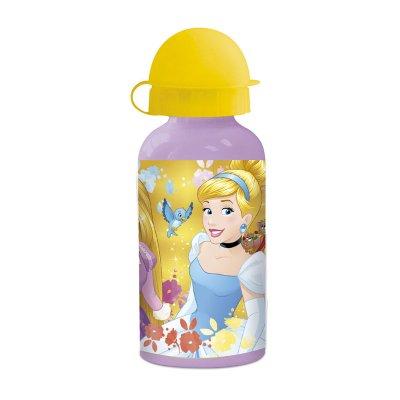 Botella aluminio 400ml Flower Princesas Disney