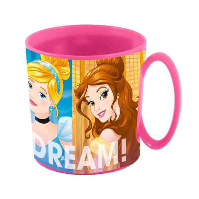 Taza plástico microondas 360ml Princesas Disney Friendship