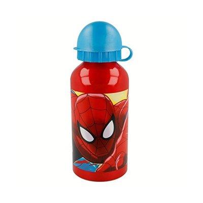 Botella aluminio 400ml Spiderman