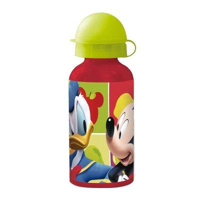 Botella aluminio 400ml Mickey Fruits