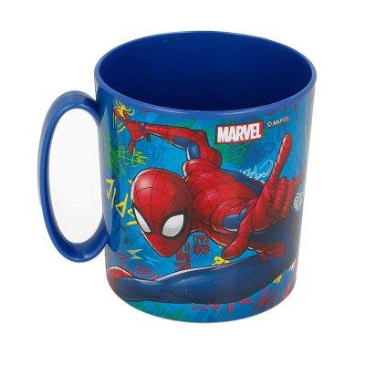 Wholesaler of Taza plástico microondas 350ml Spiderman