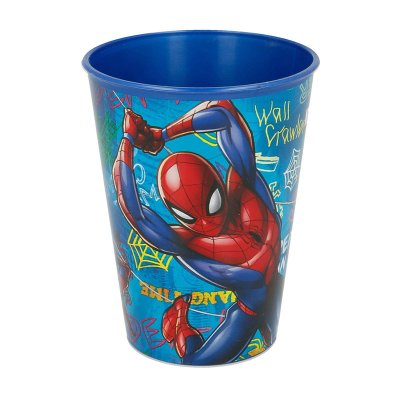 Vaso plástico 260ml Spiderman Graffiti