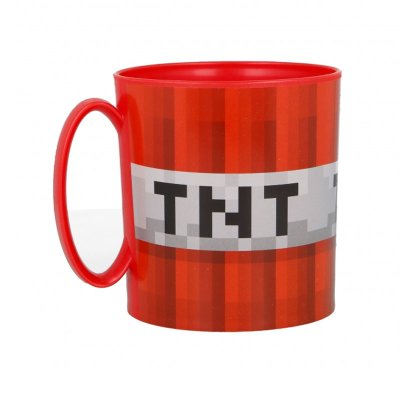 Wholesaler of Taza plástico microondas 350ml TNT Minecraft