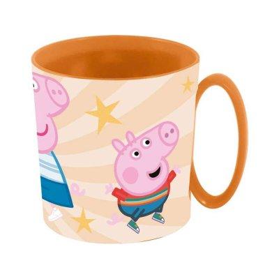 Wholesaler of Taza plástico microondas 350ml Peppa Pig & Friends
