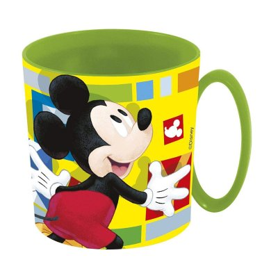 Wholesaler of Taza plástico microondas 350ml Mickey Happy