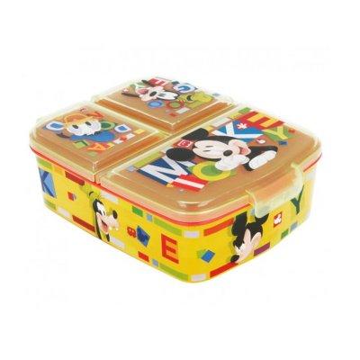 Sandwichera rectangular múltiple Mickey