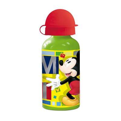 Botella aluminio 400ml Mickey Fun
