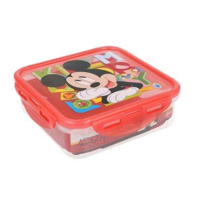 Wholesaler of Recipiente cuadrado 750ml Mickey Mouse