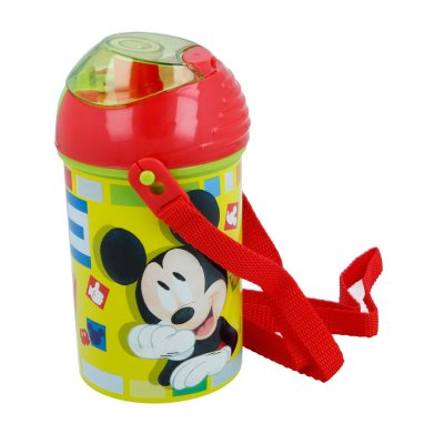 Botella robot pop up 450ml Mickey Mouse
