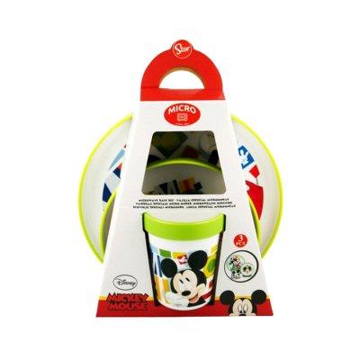 Wholesaler of Set desayuno plástico Mickey Mouse