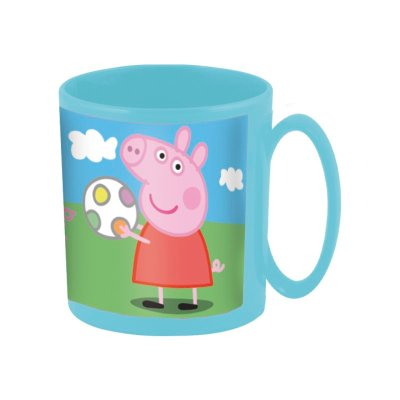 Wholesaler of Taza plástico microondas 360ml Peppa Pig