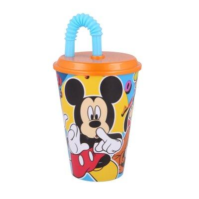 Wholesaler of Vaso con caña 430ml Mickey Mouse Cool Summer