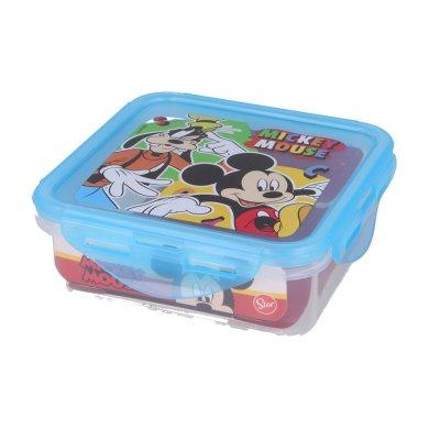 Wholesaler of Recipiente cuadrado 500ml Mickey Mouse Cool Summer
