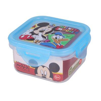 Recipiente cuadrado 290ml Mickey Mouse Cool Summer