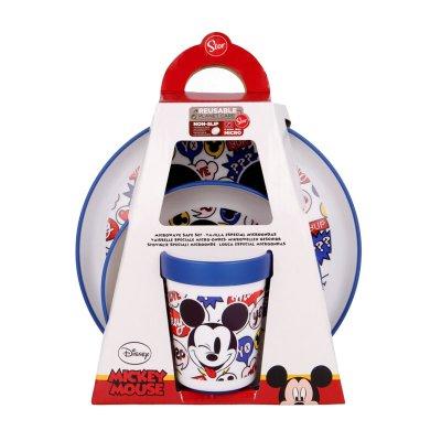 Set desayuno plástico Mickey Mouse Disney