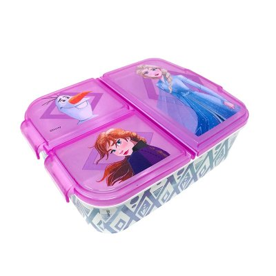 Wholesaler of Sandwichera rectangular múltiple Ana & Elsa Frozen
