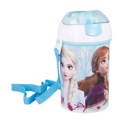 Botella robot pop up 450ml Frozen Disney