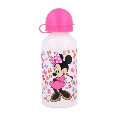 Botella aluminio 400ml Minnie Mouse Disney