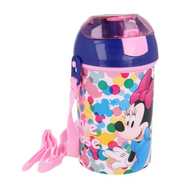 Botella robot pop up 450ml Minnie Mouse Feel Good
