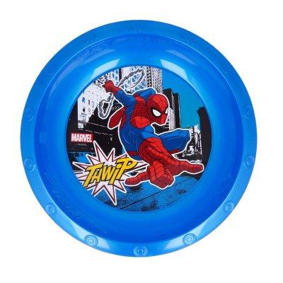 Cuenco plástico Spiderman