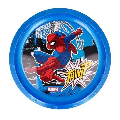 Plato plástico Spiderman