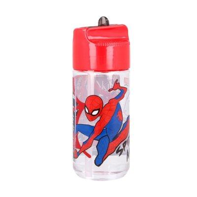 Botella tritan hidro 430ml Spiderman