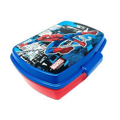 Sandwichera rectangular Spiderman Streets Marvel