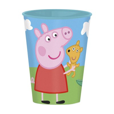 Wholesaler of Vaso plástico 260ml Peppa Pig - azul