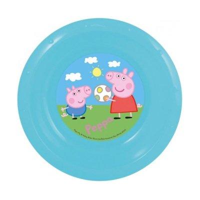 Wholesaler of Cuenco plástico Peppa Pig - azul