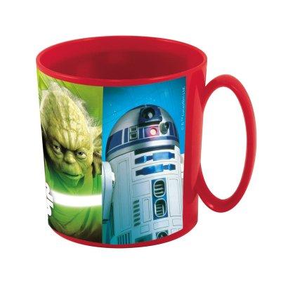 Star Wars plastic microwavable mug 360ml