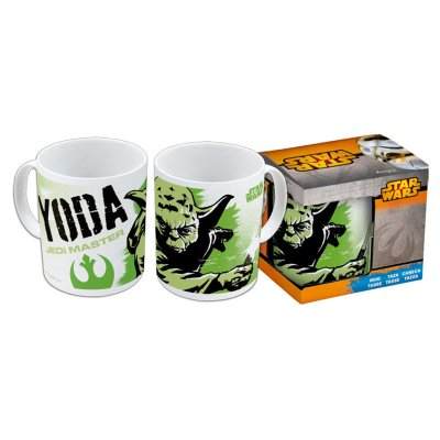 Star Wars Yoda Jedi Master ceramic mug 320ml 11oz
