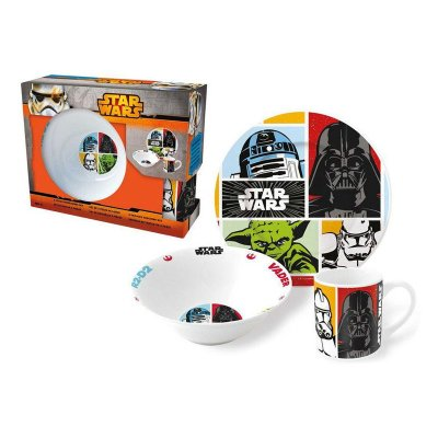 Wholesaler of Set de vajilla 3 piezas cerámica Star Wars