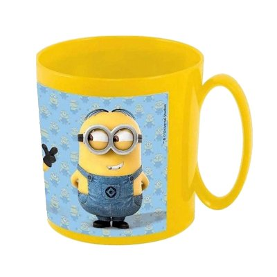 Wholesaler of Minions plastic microwavable mug 360ml