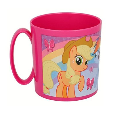 Taza plástico microondas 360ml My Little Pony