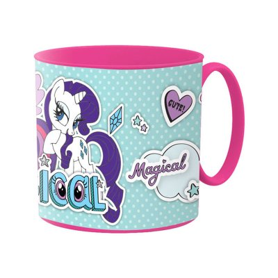 Taza plástico microondas 265ml My LIttle Pony