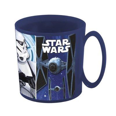Taza plástico microondas 360ml Star Wars Classic