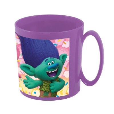 Trolls plastic microwavable mug 360ml